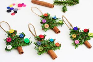 Adorable-Cinnamon-Stick-Tree-Ornaments