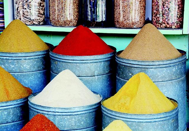 potravinářské barvy